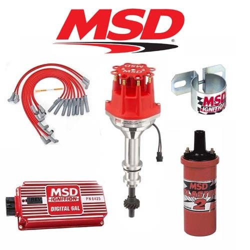 MSD 9019 Ignition Kit  Digital 6AL/Distributor/Wires/Coil/ - Ford 351W Small Cap