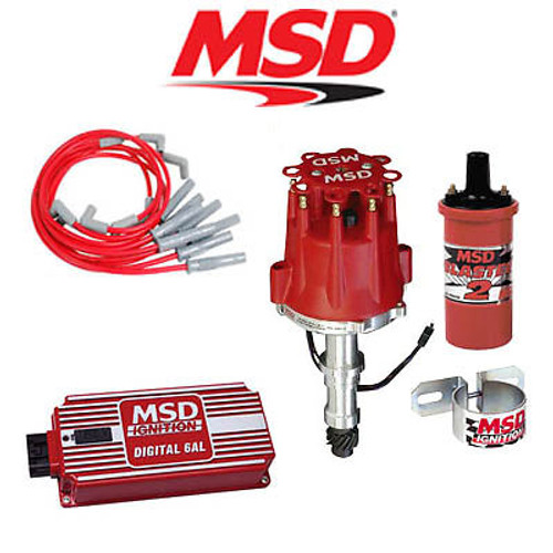 MSD 9022 Ignition Kit- Digital 6AL/Distributor/Wires/Coil Buick 400/430/455