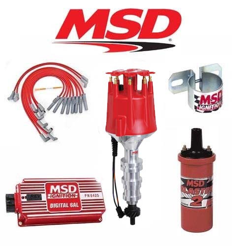 MSD 9025 Ignition Kit Digital 6AL/Distributor/Wires/Coil Ford FE 360/390/427/428