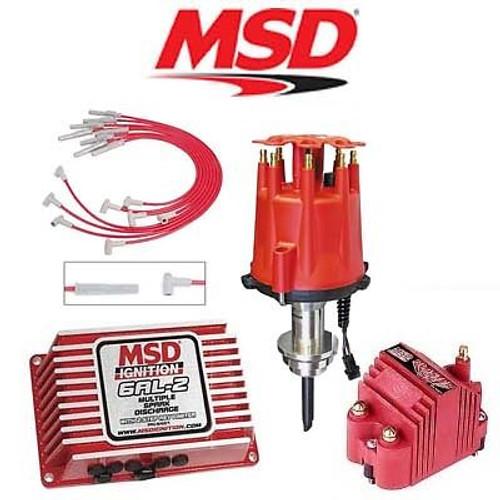 MSD 9154 Ignition Kit Digital 6AL-2/Distributor/Wires/Coil - Chrysler 273-360