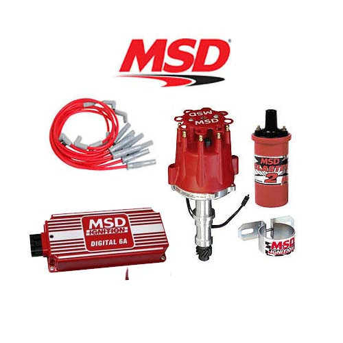 MSD 90221 Ignition Kit- Digital 6A/Distributor/Wires/Coil - Buick 400/430/455
