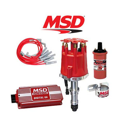 MSD 90261 Ignition Complete Kit Digital 6A/Distributor/Wires/Coil Buick 215-350