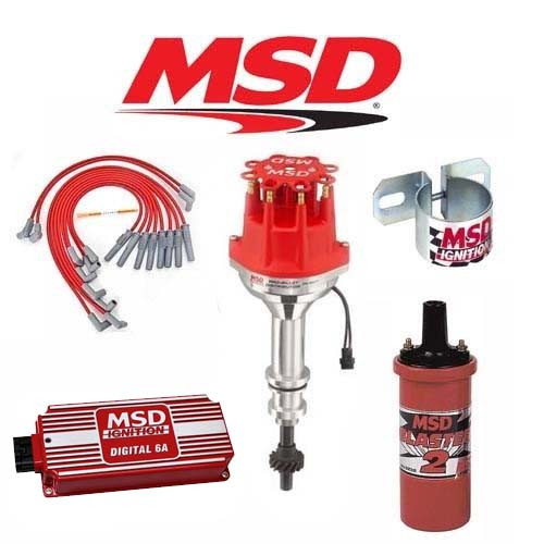 MSD 90191 Ignition Kit  Digital 6A/Distributor/Wires/Coil/ - Ford 351W Small Cap