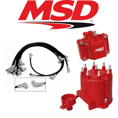 MSD Ignition Tuneup Kit 1987-92 Camaro/Firebird/Caprice Cap/Rotor/Coil/Wires V8