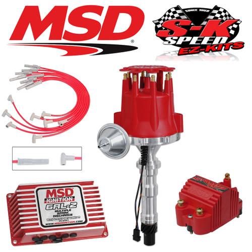 MSD 9158 Ignition Kit Digital 6AL-2/Distributor/Wires - Cadillac 368/425/472/500