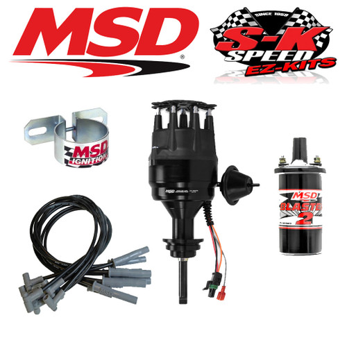 MSD 99113 Ignition Kit Ready to Run Distributor/Wires/Coil Chrysler BB 426/440
