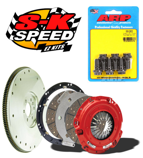 McLeod RST Twin Disc Kit With Steel Flywheel for GM LS1 LS Engines T56 800 HP