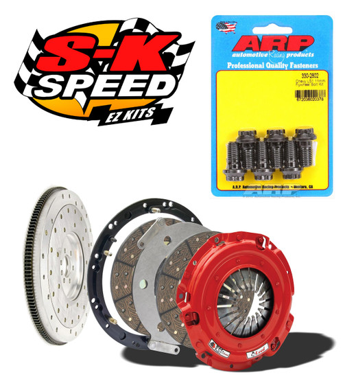 McLeod RST Twin Disc Kit With Aluminum Flywheel for GM LS1 LS Engines T56 800 HP