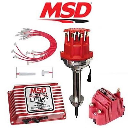 MSD 9257 Ignition Kit Programmable 6AL-2/Distributor/Wires/Coil Chrysler 413-440