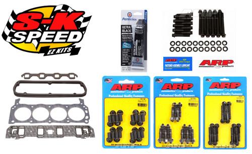 Edelbrock/ARP Top End Install Gasket/Bolt Kit Ford 5.0L/302