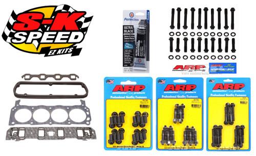 Edelbrock/ARP Top End Install Gasket/Bolt Kit Ford 351W Stock/Edelbrock Heads