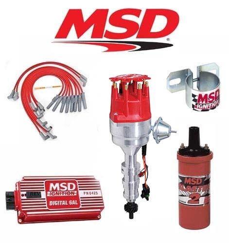 MSD 9027 Ignition Kit Digital 6AL/Distributor/Wires/Coil - Ford Y-Block 239-312