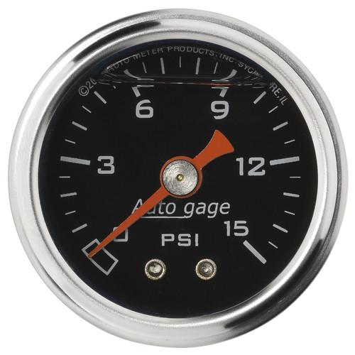 AutoMeter 2172 Sport-Comp Mechanical Fuel Pressure Gauge