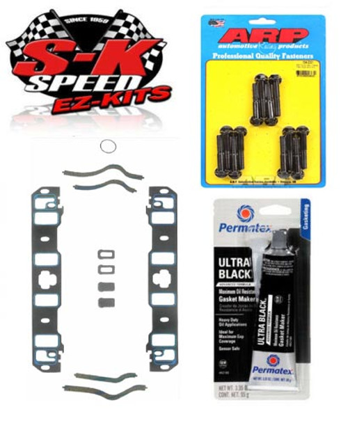 ARP/Fel-Pro Lower Intake Manifold Gasket/Bolt Installation Kit - Ford 302/351W