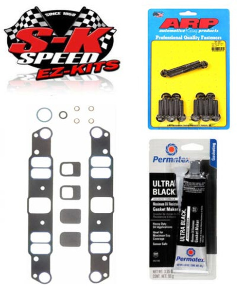 ARP/Fel-Pro Lower Intake Manifold Gasket/Bolt Installation Kit - Pontiac V8
