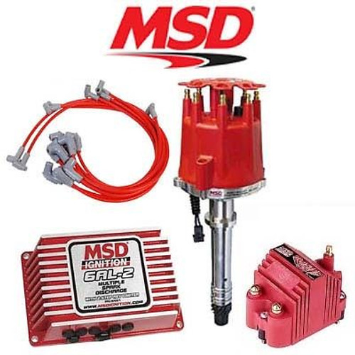 MSD 9150 Ignition Kit - Digital 6AL-2/Distributor/Wires/Blaster SS Coil SBC
