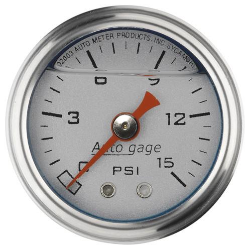 AutoMeter 2178 Sport-Comp Mechanical Fuel Pressure Gauge