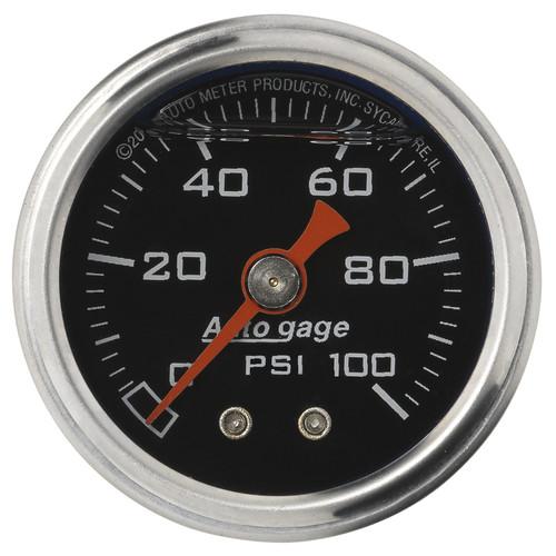 AutoMeter 2174 Sport-Comp Mechanical Fuel Pressure Gauge
