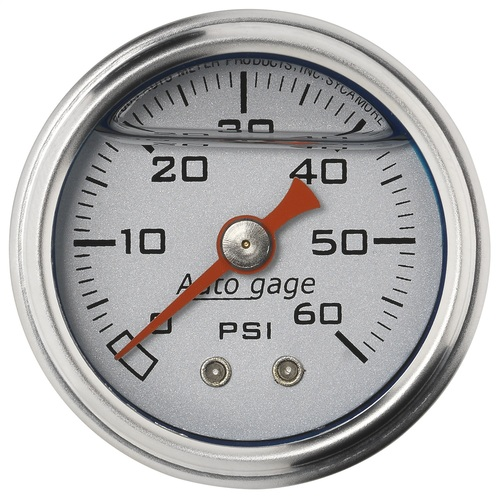 AutoMeter 2179 Sport-Comp Mechanical Fuel Pressure Gauge