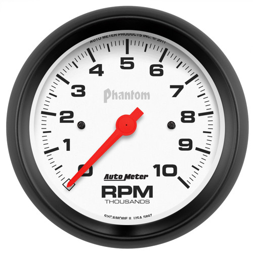 AutoMeter 5897 Phantom In-Dash Electric Tachometer