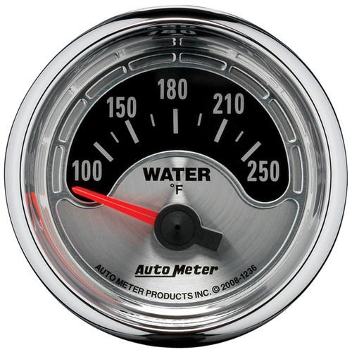 AutoMeter 1236 American Muscle Water Temperature Gauge
