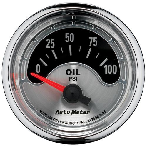 AutoMeter 1226 American Muscle Oil Pressure Gauge