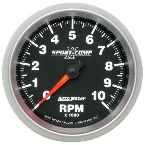 AutoMeter 3697 Sport-Comp II In-Dash Tachometer