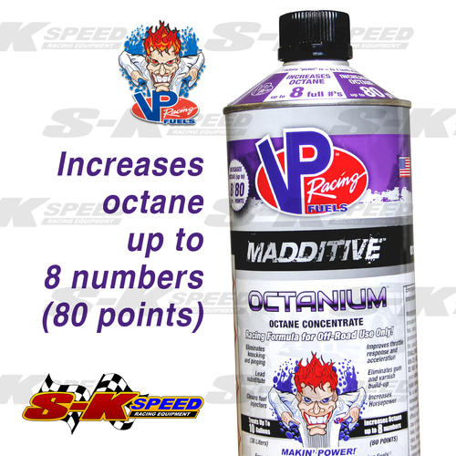 VP Racing Fuel Octanium Gasoline Octane Booster 32oz Can Treats up to 10 Gallons