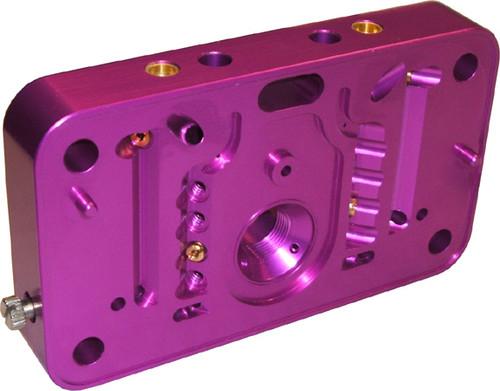 Proform 67150C Race Calibration Billet Carb Metering Block Purple 4150 Each