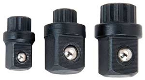 Proform 67575 Socket Assist Adapters - 3 Pc Allows Turning Sockets with Wrench!