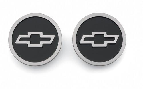 Proform 141-232 Front Freeze Plug Inserts Small Block Chevy Aluminum Pair Black