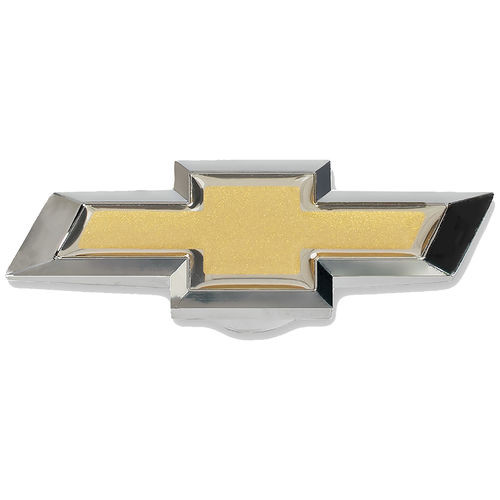 """Proform 141-336 Chevy Chrome/Gold Bowtie Air Cleaner Wing Nut 1/4""""/5/16"""" Thread"""