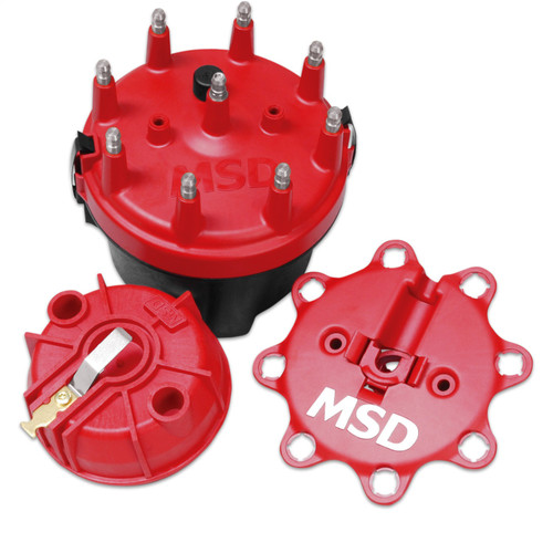 MSD Ignition 8445 Cap-A-Dapt Cap And Rotor