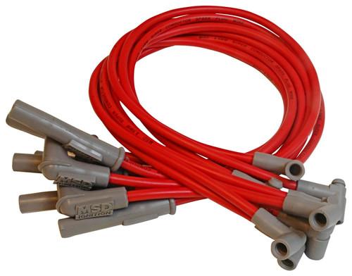 MSD Ignition 31409 Custom Spark Plug Wire Set Fits 82-83 Camaro Caprice Firebird