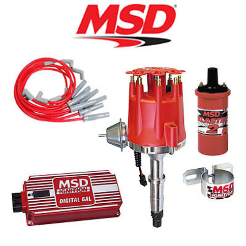 MSD 9021 Ignition Kit- Digital 6AL/Distributor/Wires/Coil/Bracket AMC V8 290-401