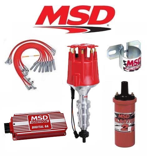 MSD 90251 Ignition Kit Digital 6A/Distributor/Wires/Coil Ford FE 360/390/427/428