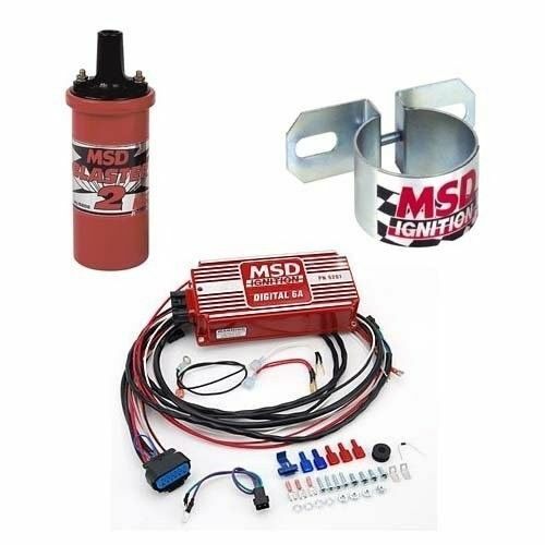 MSD 9950 Ignition Kit - Digital 6A Box/Blaster 2 Coil/Universal Coil Bracket