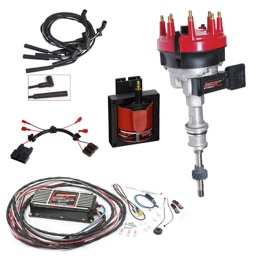 MSD 9991 Streetfire Ignition Kit 86-93 TFI 5.0L Mustang w/ Distributor/Box/Wires