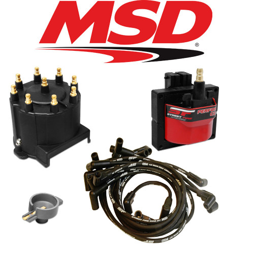 MSD Streetfire Tuneup Kit 1988-92 Camaro/Caprice V8 5.0/5.7 Cap/Rotor/Coil/Wires