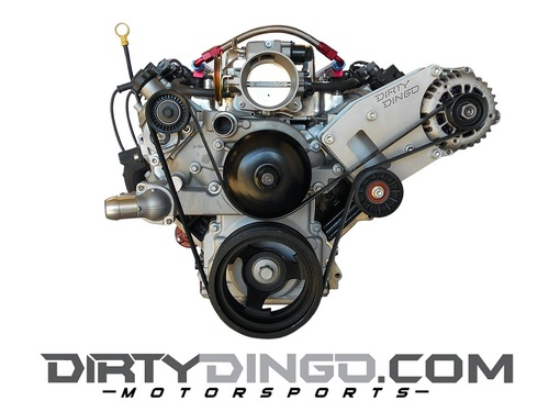 Dirty Dingo Billet Alternator Bracket for GM LS1 98-02 Camaro/Firebird Engines