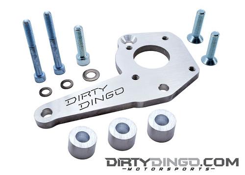 Dirty Dingo Billet Power Steering Bracket for 1999-Up Vortec V8 Truck Engines