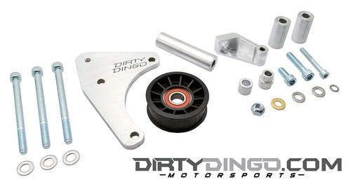 Dirty Dingo Billet Low Mount Alternator Bracket 1999-Up Vortec Truck V8 Engines