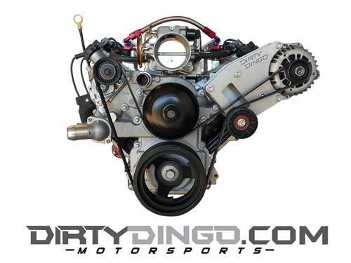 Dirty Dingo Billet Alternator Bracket GM LSx 1999-13 Vortec Engines 4.8/5.3/6.0