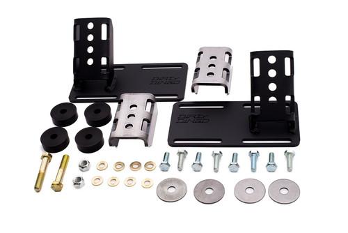 Dirty Dingo Adjustable Engine Mounts 2014-UP Gen V LT1 Swap Universal Street Rod