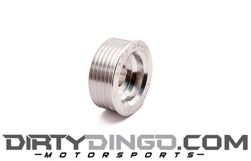 Dirty Dingo Billet Aluminum Alternator Pulley - For LS Engines 6-Rib Serpentine