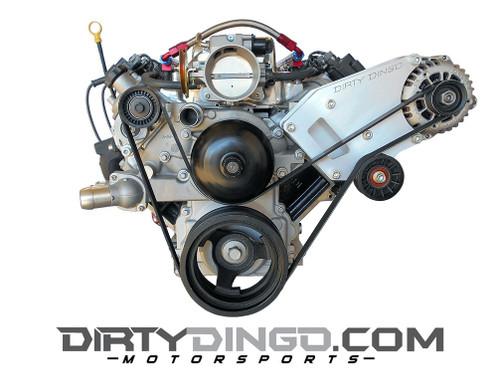 Dirty Dingo Billet Alternator Only Bracket for GM LSx Vortec Truck Engines