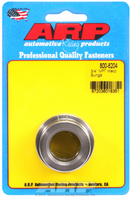 "ARP 800-8204 Mild Steel Weld-In Bung - 3/4"" NPT Female Thread"