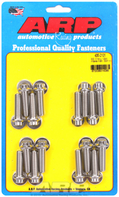 ARP 435-2101 Stainless Steel Intake Manifold Bolts - Big Block Chevy - 12 Point