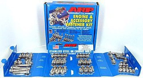 ARP 534-9601 Engine Accessory Bolt Kit Small Block Chevy Stainless Hex Head