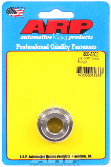 "ARP 800-8202 Mild Steel Weld-In Bung - 3/8"" NPT Female Thread"